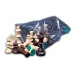 Medinės šachmatų figūros Nr. 5
