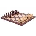 Šachmatai dekoruoti žalvarinėmis juostelėmis