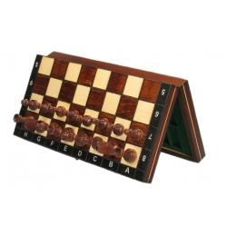 Magnetiniai šachmatai rudi