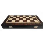 """""""Staunton"""" Nr. 4 šachmatai + šaškės + nardai"""